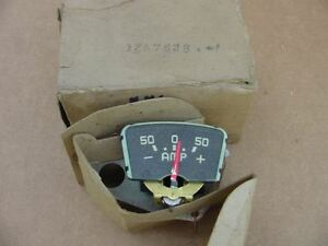 1949 50 Chrysler Royal Windsor Saratoga New Yorker NOS MoPar AMMETER AMP GAUGE