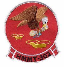 USMC HMMT-302 Marine Medium Helicopter Training Squadron Patch