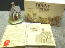 Lilliput Lane Rowan Lodge Special Edition Sp Event #559 Nib & Deeds 1990 Signed