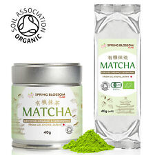 BEST MATCHA GREEN TEA 100% ORGANIC JAPANESE PREMIUM CEREMONIAL GRADE FINE POWDER
