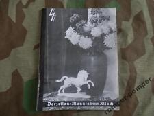 Allach SS Porcelain Catalogue
