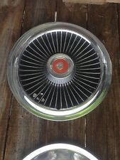 Vintage Mercury  Chrome Hub Cap Rat Rod Man Garage Wall art