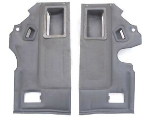84-89 Toyota 4Runner sr5 Rear Interior Seat Cargo Wall Door Panels OEM Gray Trim