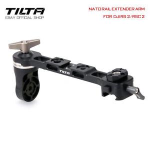 Tilta Filmkamera NATO Rail Extender Arm Rear Operating Halter For DJI RS 2/RSC 2