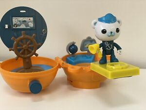 Octonauts Captain Barnacle Bear On the Go Pod Figure Playset Fits OCTOPOD HQ