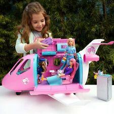Aereo di Barbie Play Set Jet Privato con Accessori Gioco Giocattolo Bambina