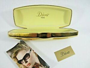 Diva Gold Eyeglasses Holder Italy Designer FOR CASE ONLY