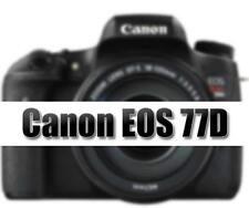 Cámara SLR NUEVO Canon EOS 77D D (Cuerpo únicamente)