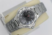 Tag Heuer WL1211 Gray Kirium Watch Midsize Mens Womens Professional Mint SS