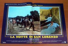 LA NOTTE DI SAN LORENZO fotobusta poster Omero Antonutti Bigagli Taviani BJ23