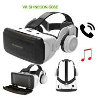 VR Shinecon SC-G06E Kopfhörer 3D Virtual Reality Brille Gut