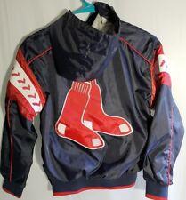 Genuine Merchandise Boston Red Sox Pull Over Windbreaker Sewn Youth S 8-10 MLB