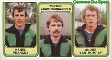 399 VANDENWIJNGAERDEN VAN ROMPAY STADE LEUVEN STICKER FOOTBALL 1983 PANINI