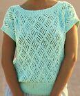 "0119 Lady's Top 30-40"" - Vintage Knitting Pattern Reprint"