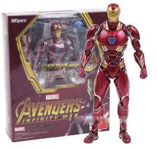 MARVEL SUPERHELDEN -  Iron Man MK50 Avengers Infinity war action-figuren 15 cm