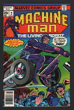 MACHINE MAN #2, 1978, Marvel Comics, NM- CONDITION COPY, 2ND ISSUE!