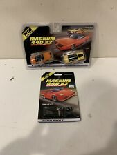 TYCO TWIN PACK Magnum 440-X2 Plymouth Super Bird & Dodge Charger & TUNE UP KIT