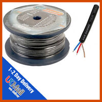 Van Damme Tour Grade XKE Black Microphone Cable | Mic Cable | 25m Reel | 25 x M