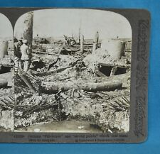 WW1 Stereoview Photo German Pill Boxes & Strong Points Battlefield Underwood