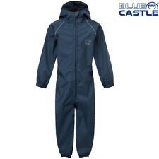 Azul Castle Infantil Todo en Uno Chubasquero Impermeable Puddle Traje Mono