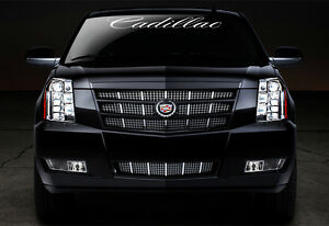 Cadillac Window Windshield Vinyl Decal Sticker Escalade, Cts, Cts-V, Deville