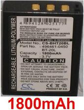 Batterie Für Denso BHT-200, BHT-300, BHT-400 BT-20L BT20L 1800mAh