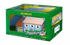 Bachmann Plasticville O Two Story House Built Up 1/48 Scale 45305