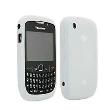 Blackberry Transparent White Gel Silicon Skin Case for Curve 3G 9330 NEW OEM
