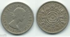 Gran Britain Great Britain Florin 2 Two Shillings1956 KM# 906 ø 28.3 mm