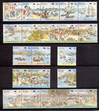 AUSTRALIA 1988 Bicentennial First Fleet five sets MUH