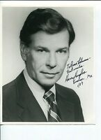 Harry Hughes Governor of Maryland Signed Autograph Photo