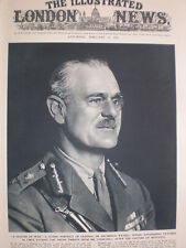 Photo article General Sir Archibald Wavell british army chief in Libya 1941