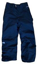 The North Face Boys Hyvent Ski Snowboard Snow Pants Black Nylon Large 14/16