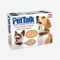 Prank Small 8x6x2 PET TALK fake Gag Funny PARODY Joke Gift Box dog cat birthday