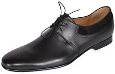 NEW Gucci Men's 368445 Black Leather Suede Betis Oxford Shoes 10.5 G 11.5 U.S.