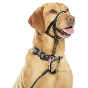 Halti Head Collar Dog Non Pull Training Stops Pulling Kindly - All Sizes - Black