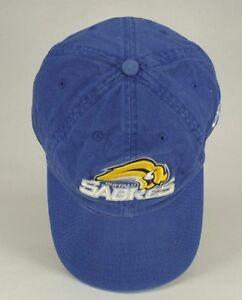Buffalo Sabers Hockey Baseball Hat Cap Blue White Yellow New Era Child Size L