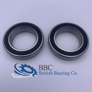 PAIR OF 6902RS (61902-2RS) THIN SECTION QUALITY BEARINGS 15x28x7mm