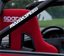 2x Mazdaspeed  Mazda Aufkleber Decal Sticker