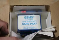 GEMS SENSOR SAFE PAK SWITCH, P/N 25872, With Install Kit, 5A at 120 VAC NEW
