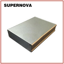 22.2*74*100 Silver Aluminum PCB Instrument Box Enclosure Electronic Project DIY