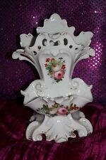 Vintage Porcelain Tootbrush and Soap Holder, Flower Vase or Pen Holder