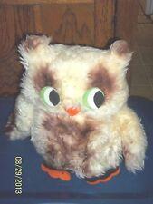 VINTAGE BEIGE BROWN HOOT BARN OWL PLUSH