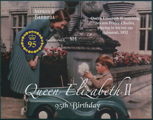 Antigua & Barbuda 2021 MNH Royalty Stamps Queen Elizabeth II 95th Bday 1v S/S