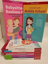 AMERICAN GIRL: Feeling Book, Guide to Middle School, Mini Mysteries (10 books )