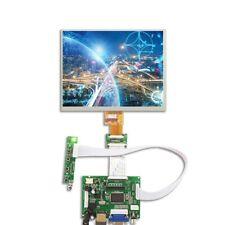 "HDMI/VGA/2AV Control Driver Board + 8""inch HE080IA-01D 1024*768 IPS LCD Display"