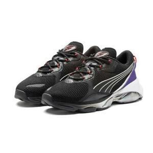 Puma Men's CELL DOME GALAXY Trainers Black/Violet 371763-02 UK 9.5 EU 44