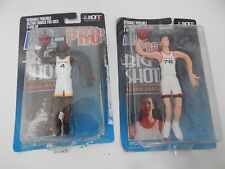 All-Pro Big Shot NBA Chris Webber & Bradley Bendable Poseable Action Figures NBA