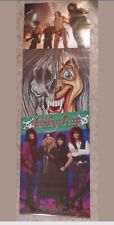 "1986 NOS Cinderella Rock Group Door poster 23"" x 72"" never unrolled 80's Band"