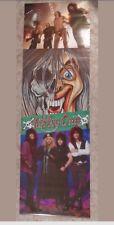 "1986 NOS Cinderella Rock Group Door poster 23"" x 72"" never unrolled 80's Band"